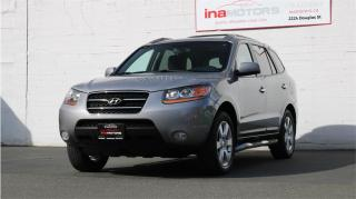 Used 2008 Hyundai Santa Fe Limited 5-Pass for sale in Victoria, BC