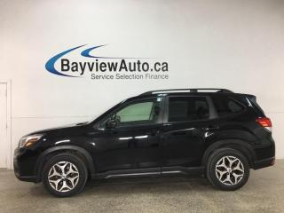 Used 2019 Subaru Forester 2.5i Convenience - AWD! PANOROOF! 1/2 LEATHER! ADAPTIVE CRUISE! + MUCH MORE! for sale in Belleville, ON