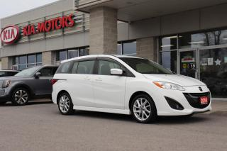 Used 2014 Mazda MAZDA5 GS HEATED SEATS | CRUISE CONTROL | BLUETOOTH for sale in Cobourg, ON