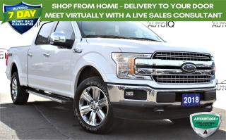 Used 2018 Ford F-150 Lariat CREW CAB 4X4 CERTIFIED! for sale in Hamilton, ON