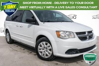 Used 2015 Dodge Grand Caravan SE/SXT STOW'N GO! CLEAN CARFAX! for sale in Barrie, ON