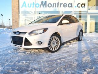 Used 2012 Ford Focus Titanium TITANIUM AUTOMATIQUE CUIR TOIT OUVRANT AIR CLIMATIS? 49$/SEMAINE for sale in Vaudreuil-Dorion, QC