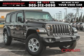 Used 2020 Jeep Wrangler UNLTD SPORT | COLD WEATHER | SAFETY GRP | for sale in Hamilton, ON