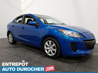 Used 2013 Mazda MAZDA3 GX - MANUELLE - BLUETOOTH - CLIMATISEUR for sale in Laval, QC