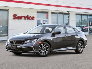 New 2021 Honda Civic EX for sale in Brandon, MB
