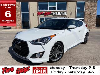 Used 2017 Hyundai Veloster Turbo | Auto | Nav | Leather | Panoroof | for sale in St Catharines, ON