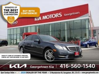 Used 2012 Mercedes-Benz E-Class E350 4MATIC BLUE EFFICIENCY   LTHR  NAV  ROOF 101K for sale in Georgetown, ON