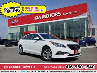 Used 2015 Hyundai Sonata GL| CLN CRFX| B/U CAM | B/T | ALLOYS| 90K | AUX IN for sale in Georgetown, ON