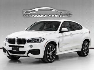 Used 2018 BMW X6 xDrive35i M Sport, Navigation, 21Inch Alloys, Loaded for sale in Concord, ON