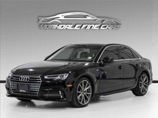 Used 2017 Audi A4 2.0 TFSI Auto Premium Plus quattro S LINE for sale in Concord, ON