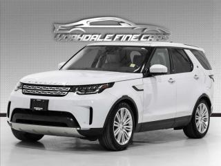 Used 2017 Land Rover Discovery HSE Luxury Navigation, 7 Passenger, HUD, Loaded for sale in Concord, ON