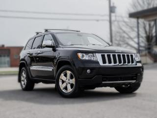 Used 2011 Jeep Grand Cherokee 4WD Overland |NAV|BACKUP|ROOF |DVD| R STARTER |ACC for sale in North York, ON