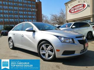 Used 2014 Chevrolet Cruze DIESEL | LEATHER | SPOILER | CAM | 4 NEW SNOW TIRES* | for sale in Scarborough, ON