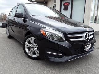 Used 2018 Mercedes-Benz B-Class B250 4MATIC - LEATHER! BACK-UP CAM! BSM! PANO ROOF! for sale in Kitchener, ON