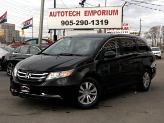 Used 2016 Honda Odyssey SE 8 Passengers Camera/Bluetooth/Power Seat&ABS for sale in Mississauga, ON