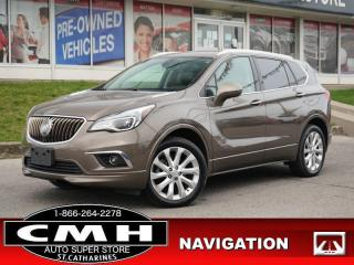 Used 2016 Buick Envision Premium II  NAV CAM ROOF LEATH P/GATE 19-AL for sale in St. Catharines, ON