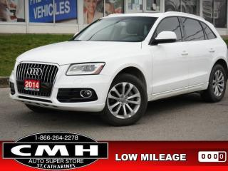 Used 2014 Audi Q5 2.0T quattro Technik  NAV ROOF LEATH P/SEATS 19-AL for sale in St. Catharines, ON