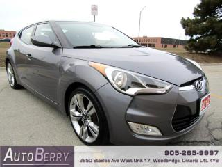 Used 2012 Hyundai Veloster Base w/Tech for sale in Woodbridge, ON