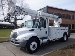 Used 2013 International 4300 DuraStar Pole Truck Air Brakes Diesel for sale in Burnaby, BC