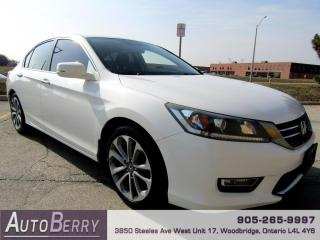 Used 2013 Honda Accord Sport Sedan CVT for sale in Woodbridge, ON