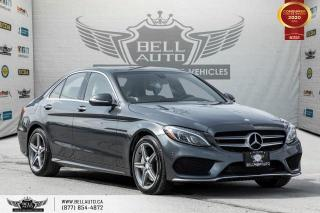 Used 2015 Mercedes-Benz C-Class NO ACCIDENT, AMG PKG, AWD, NAVI, REAR CAM, PANO ROOF for sale in Toronto, ON