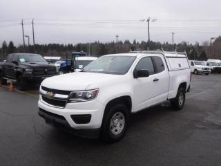 Used 2017 Chevrolet Colorado Work Truck Ext. Cab 2WD Canopy for sale in Burnaby, BC
