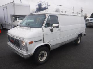 Used 1991 GMC Vandura G2500 Propane Cargo Van With Rear Shelving for sale in Burnaby, BC