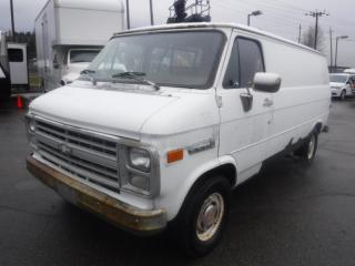Used 1989 GMC Vandura G2500 Propane Cargo Van With Rear Shelving for sale in Burnaby, BC