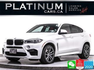 Used 2017 BMW X6 M V8 567HP, AWD, PREM PKG, NAV, 360, DRIVING PKG for sale in Toronto, ON
