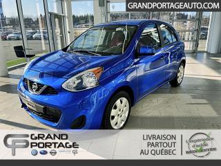 Used 2016 Nissan Micra SV à hayon 4 portes BA for sale in Rivière-Du-Loup, QC