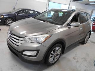 Used 2013 Hyundai Santa Fe SE  AWD 2.0T ** CUIR,TOIT,CAMERA,IMBATTA for sale in Montréal, QC