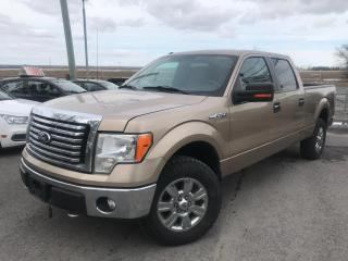 Used 2012 Ford F-150 Xlt/ crew cab moteur 5.0 litres camera de recul 4x4 vrai beau camion for sale in Carignan, QC