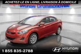 Used 2012 Hyundai Elantra GL + GARANTIE + A/C + CRUISE + WOW !! for sale in Drummondville, QC