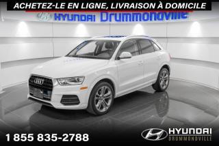 Used 2017 Audi Q3 PROGRESSIV QUATTRO + GARANTIE + NAVI + W for sale in Drummondville, QC
