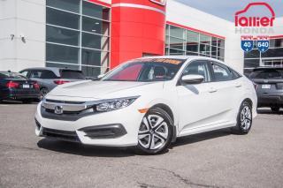 Used 2017 Honda Civic GARANTIE LALLIER 10ANS/200,000 KILOMETRES INCLUSE* LE PLUS GRAND CHOIX DE CIVIC USAGEES AU QUEBEC for sale in Terrebonne, QC