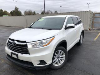 Used 2016 Toyota Highlander LE AWD for sale in Cayuga, ON