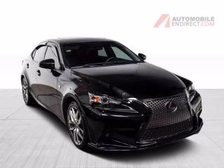 Used 2015 Lexus IS 250 F SPORT AWD CUIR TOIT MAGS GPS CAMERA DE RECUL for sale in St-Hubert, QC