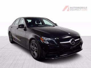 Used 2019 Mercedes-Benz C-Class C300 AMG Pack 4Matic Cuir Toit Pano GPS Caméra for sale in St-Hubert, QC