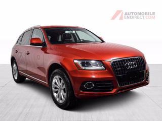 Used 2017 Audi Q5 PROGRESSIV QUATTRO CUIR TOIT PANO MAGS NAV for sale in St-Hubert, QC