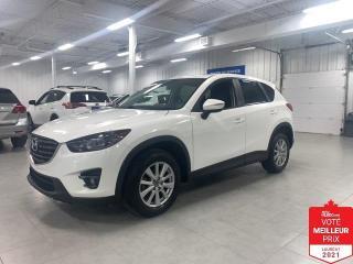 Used 2016 Mazda CX-5 GS AWD - CAMERA + TOIT + JAMAIS ACCIDENTE !!! for sale in St-Eustache, QC