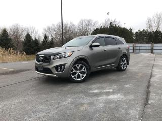 Used 2017 Kia Sorento SX AWD for sale in Cayuga, ON