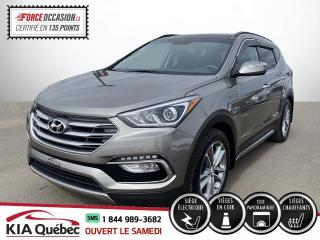 Used 2018 Hyundai Santa Fe Sport ** SE * 2.0 TURBO * AWD *TOIT PANO *CUIR for sale in Québec, QC