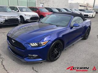 Used 2016 Ford Mustang CONVERTIBLE+V6+A/C+BLUETOOTH+MAGS 18+CAMÉRA DE RE for sale in St-Hubert, QC