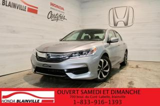 Used 2016 Honda Accord LX I4 4 portes CVT for sale in Blainville, QC
