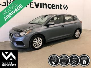 Used 2020 Hyundai Accent PREFERRED À HAYON ** GARANTIE 10 ANS ** Véhicule à hayon, récent et à bas kilométrage! for sale in Shawinigan, QC