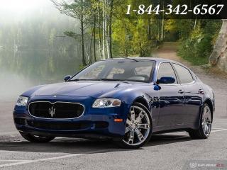 Used 2007 Maserati Quattroporte Sport GT - Amazing condition | F1 TRANS for sale in Oakville, ON