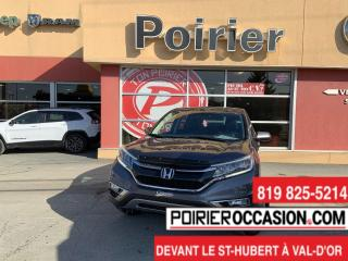 Used 2016 Honda CR-V SE 4 ROUES MOTRICES for sale in Val-D'or, QC