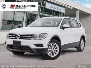 New 2021 Volkswagen Tiguan Trendline for sale in Maple Ridge, BC