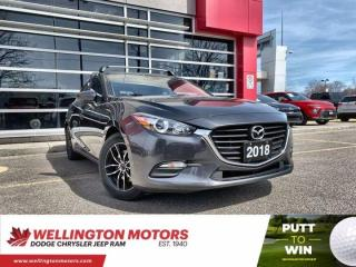 Used 2018 Mazda MAZDA3 Sport GS --> New Front Brakes & Rotors !! for sale in Guelph, ON