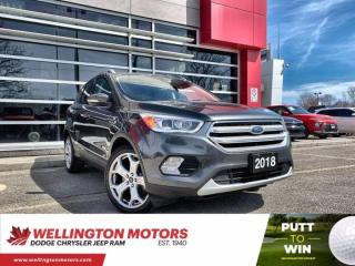 Used 2018 Ford Escape Titanium >> New Front/Rear Brake Pads & Rotors !! for sale in Guelph, ON